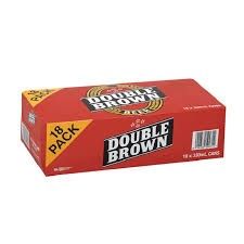 Double Brown Beer 330ml cans 18pk Double Brown Beer 330ml cans 18pk