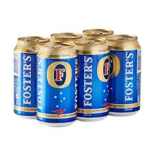 Foster 6pk cans Foster 6pk cans